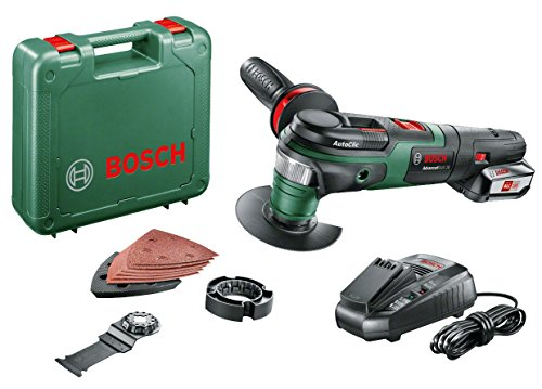 Bosch Home and Garden 0603104071 2.5 A AdvancedMulti 18, 18 V, Green