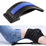 Back Stretcher Adjustable for Lumbar Pain Relief - HONGJING Spine Deck for Back Stretching & Muscle Relaxation, Regain Your Perfect Waist Curve