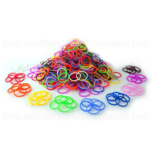 300 NEON FARBE LOOM BANDS LOOM CRAZY MIT S CLIPS UND HOOK