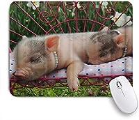 PATINISAマウスパッド 柔らかいColofulマットアイアンベッドで眠っているダイヤモンドネックレス ゲーミング オフィ良い 滑り止めゴム底 ゲーミングなど適用 マウス 用ノートブックコンピュータマウスマット