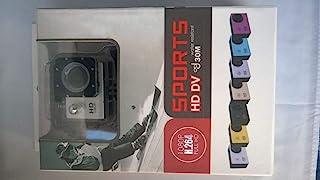 اكشن كاميرا 12 ميجابيكسل كاميرا رياضية 1080p فل اتش دي DVR للغطس لغاية 30 متر ضد الماء 1.5