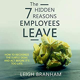 The 7 Hidden Reasons Employees Leave audiobook cover art
