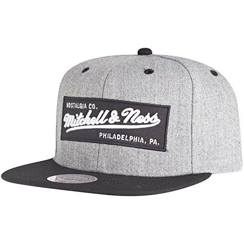 Mitchell & Ness Snapback Cap NE18Z MN OWN Grau Schwarz, Size:ONE Size