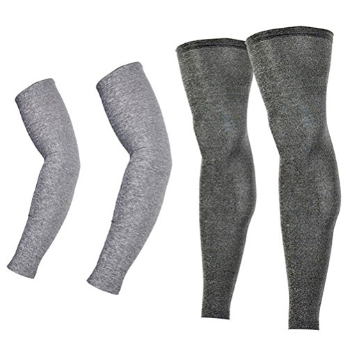Breathable Non-Slip Long Sun Sleeves Arm Warmers Covers for Men Women 1 Pair Elements for Designing Primitive Art Cooling Arm Sleeves UV Protection