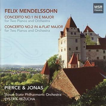 Mendelssohn: Concertos Nos. 1 & 2 for Two Pianos and Orchestra