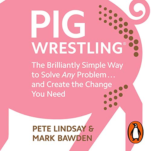 Pig Wrestling audiobook cover art