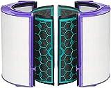 LongRong para Dyson DP04 HP04 TP04 Pure CoolTM Filtro HEPA de Vidrio purificador y Filtro Interior de carbón Activado