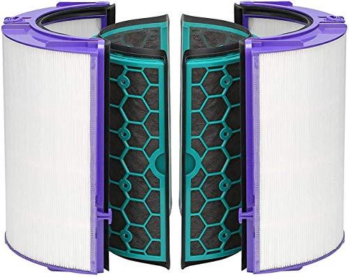 LongRong per Dyson DP04 HP04 TP04 Pure CoolTM - Filtro HEPA in Vetro e Filtro Interno ai Carboni Att