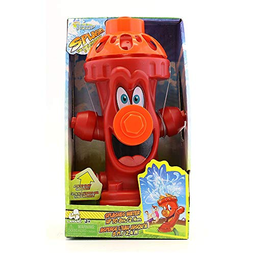 Kids Sprinkler Fire Hydrant, Attach Water Sprinkler for Kids...