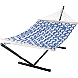 double hammock with spreader bars
