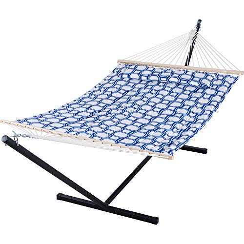 SUNCREAT Two Person Hammock with 12ft Stand...