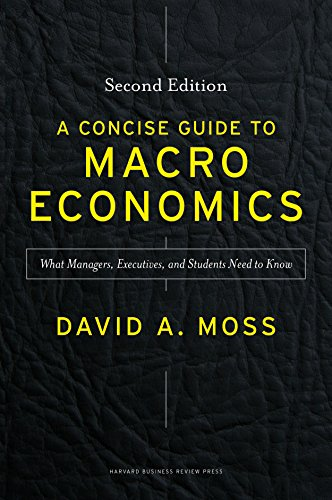 A Concise Guide to Macroeconomics, Second Edition: What Managers, Executives, and Students Need to Know (English Edition)