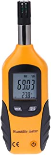 Lancoon Digital Psychrometer - Handheld Thermometer Hygrometer Temperature Humidity Meter with Dew Point/Wet Bulb Temperature for Indoor Outdoor, Home, Industry, Agriculture HVAC - Battery Included