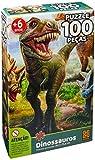 Quebra-cabeca Cartonado Dinossauro 100 Pcs - 01 Unidade Grow Multicor
