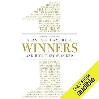 Winners audiobook cover art