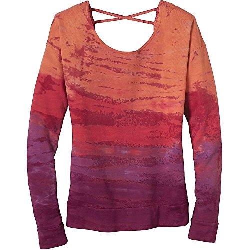 Prana–Damen Pullover deelite, Damen, Light Red Violet, Large