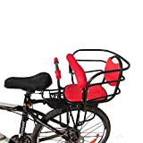 YOUGL Child Bicycle Seat,Bicycle Rear Seat Bicycle Child Seat,for Adult Bike Attachment