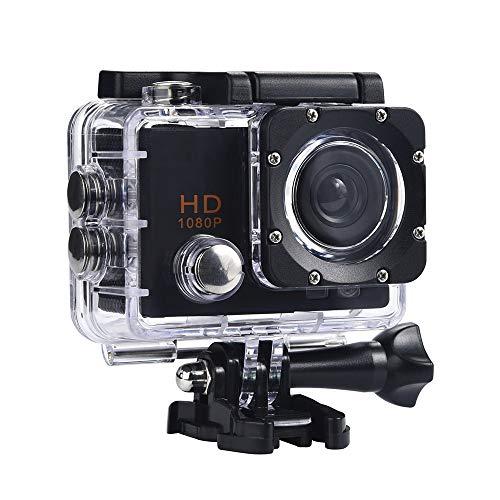 LRWEY 1080P HD Kamera Unterwasser Kamera Ultra HD Sport Kamera Helmkamera Wasserdicht DVR Cam DV Video Camcorder für Motorrad Fahrrad Reiten