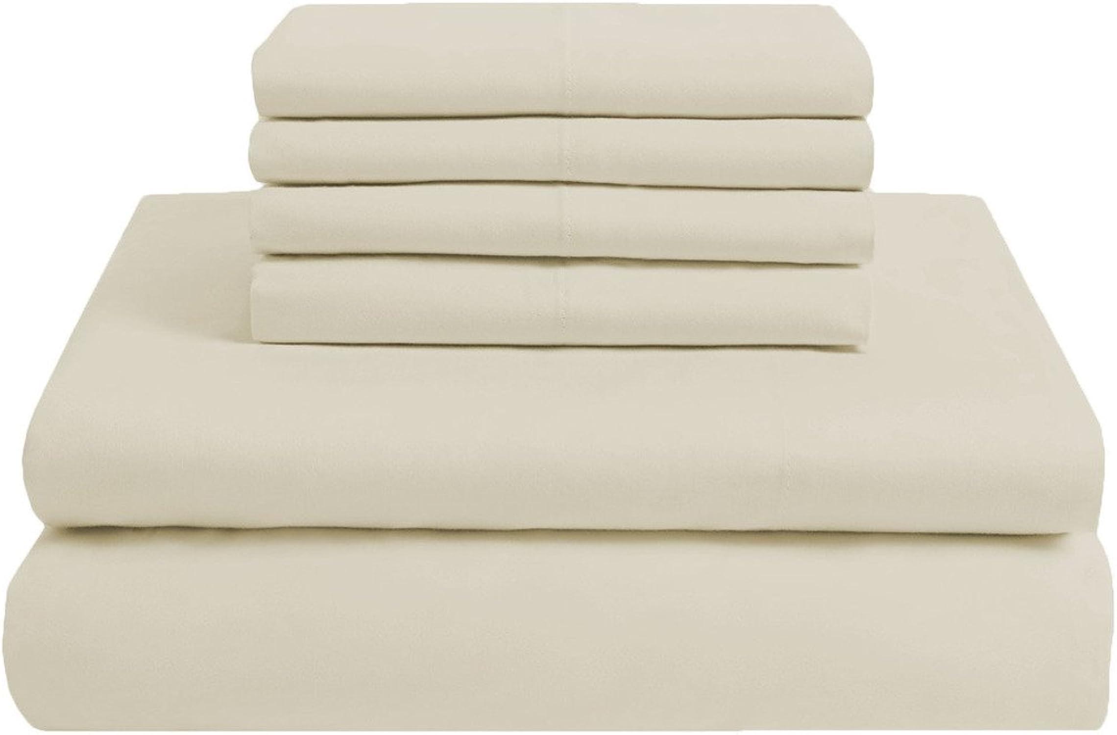 de moda Scalabedding Scalabedding Scalabedding funda 18cm de profundidad–100% algodón egipcio–400hilos cm2–6piezas de resistente Double XL cama plata  Hay más marcas de productos de alta calidad.