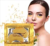Anti Aging Crystal 24K Gold Powder Gel Collagen Eye Masks Sheet Patch VeniCare (20 Pairs)