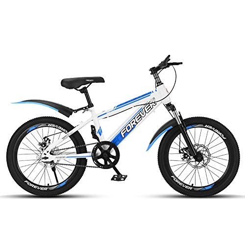 BAOMEI Kids Bike 20' Kids Outdoor Bicycle,for 9-14Years Old Boys and Girls Adjustable Children Mountain Bike,4 Colors (Color : D)