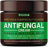 Antifungal Cream - Toenail Fungus Treatment & Athletes Foot Cream - Made in USA - Powerful Skin Fungus Cream - Natural Anti Itch Cream - 2 oz