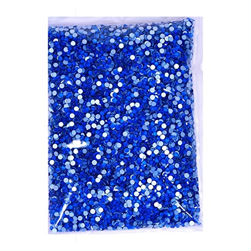 CHUNMA 14400 unids Mayorámagos en Paquete a Granel Color Luminoso Flatback Clavo Strass for Bag (Color : 3, Size : SS8 14400pcs)