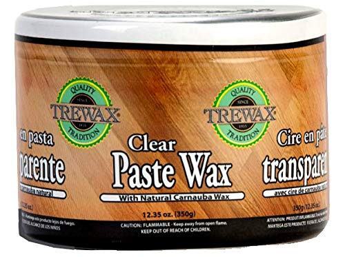 paste waxes Trewax, Clear, Paste Wax, 12.35-Ounce, 1-Pack
