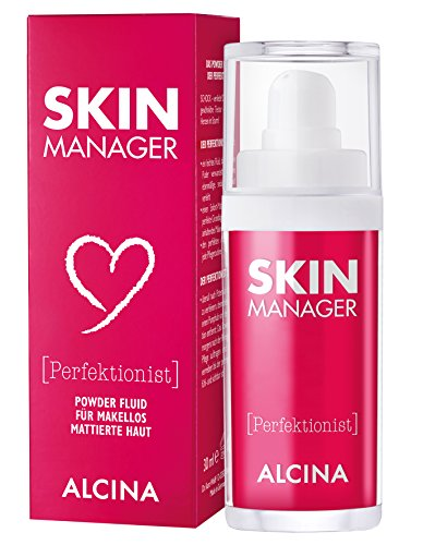 ALCINA Skin Manager Perfektionist, 1 x 30 ml - Powder-Fluid für makellos mattierte Haut