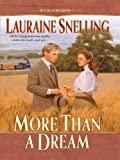 More Than a Dream (Thorndike Christian Historical Fiction) flood light May, 2021