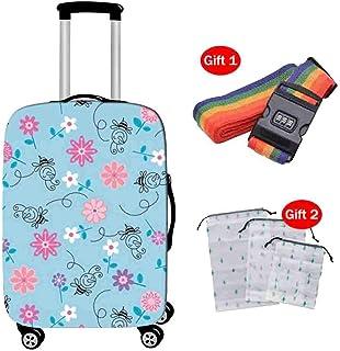 Suitcase Cover Funda Maleta Estuche de Viaje Poliéster Amoniaco Elástico Altamente Resistente al Desgaste Cubierta Antipolvo