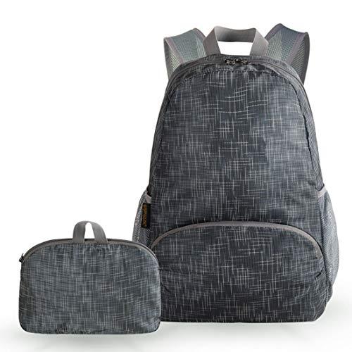 LIANGJING Ultraleichte, tragbare Reisetasche Im Freien Faltbare wasserdichte Tasche,D,M