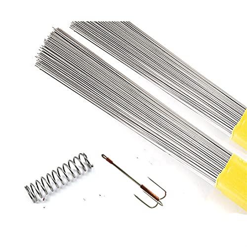 스프링 스틸 와이어 500MM | 20PC 스테인리스 스틸 스프링 와이어 전체 하드 와이어 직사선 0.2 | 0.3 | 0.4 | 0.6 | 0.8 스프링 스틸 와이어 (특정 : 0.8X500MM)