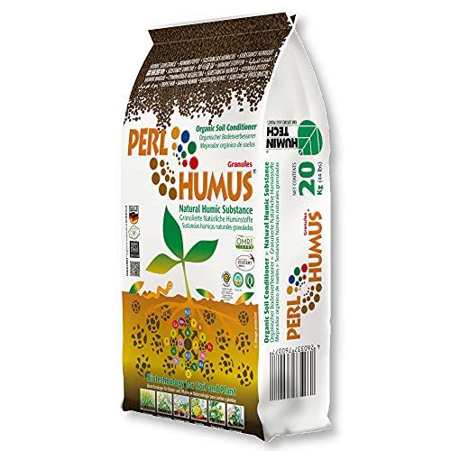 HuminTech® PERLHUMUS 20 kg Bodenverbesserer Nährhumus Dauerhumus Huminstoffe