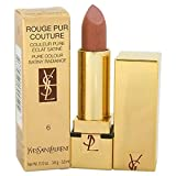 Rouge Pur Couture Pure Colour Satiny Radiance Lipstick - # 6 Rose Bergamasque by Yves Saint Laurent for Women - 0.13 oz Lipstick