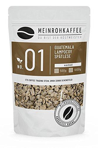 Rohkaffee - Guatemala Lampocoy Spätlese (grüne Kaffeebohnen) - mittelkräftig, nussig - 500g