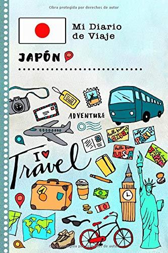 Japón Mi Diario de Viaje: Libro de Registro de Viajes Guiado Infantil - Cuaderno de Recuerdos de Actividades en Vacaciones para Escribir, Dibujar, Afirmaciones de Gratitud para Niños y Niñas