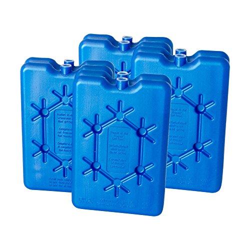 ToCi Frigorifero | 8 x 200 ml piatto freezeboard | elementi refrigeranti per il frigorifero o borsa frigo