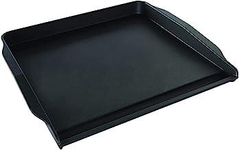 """Nordic Ware Stovetop Backsplash Griddle, 14"""" x 12"""", Black"""
