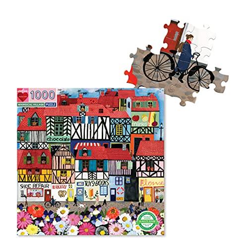 eeBoo Whimsical Village 1000 Piezas