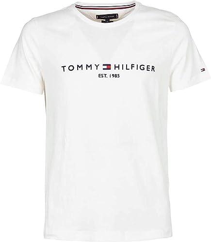 Tommy Hilfiger Tommy Flag Hilfiger Tee Top de Sport Homme