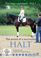 How to get the perfect Demonstrates Explains why the leg has to be on the horse's body to halt How to resist without pulling backward Expains what to do when your horse leans on the bit