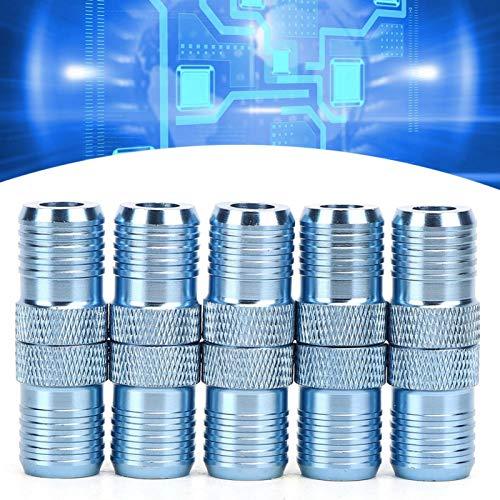 SALUTUYA 10 Unids/Set Pinball Posicionamiento Aluminio e Imán Anillo de Tornillo Magnético Punta de Destornillador Anillo de Tornillo Magnético para H6.3 Soporte de Destornillador de Punta de