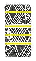 [AQUOS R6] ケース 手帳型 スマホケース アクオスアール6 カバー 手帳 おしゃれ 0225-B. 黄色 人気 スマートフォン カバー 手帳型ケース ベルトなし スマホゴ