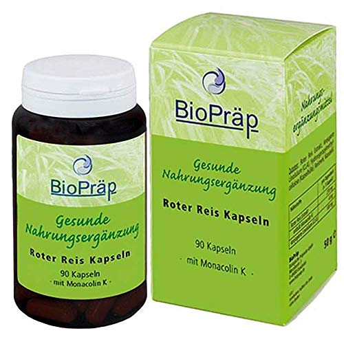 BioPräp rode rijst capsules 90St.