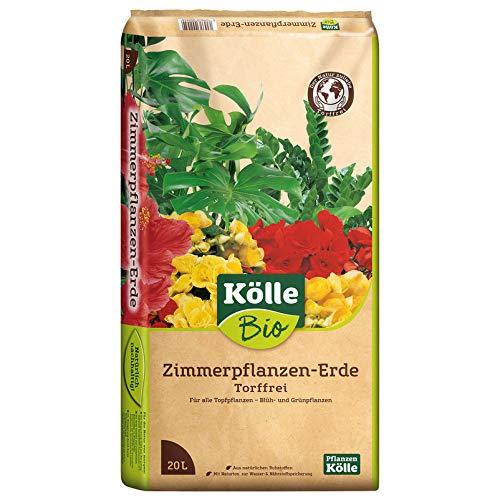 Kölle Bio Zimmerpflanzen-Erde Torffrei...