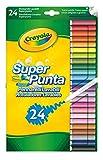 Crayola Supertips Washable - Pack Of 24