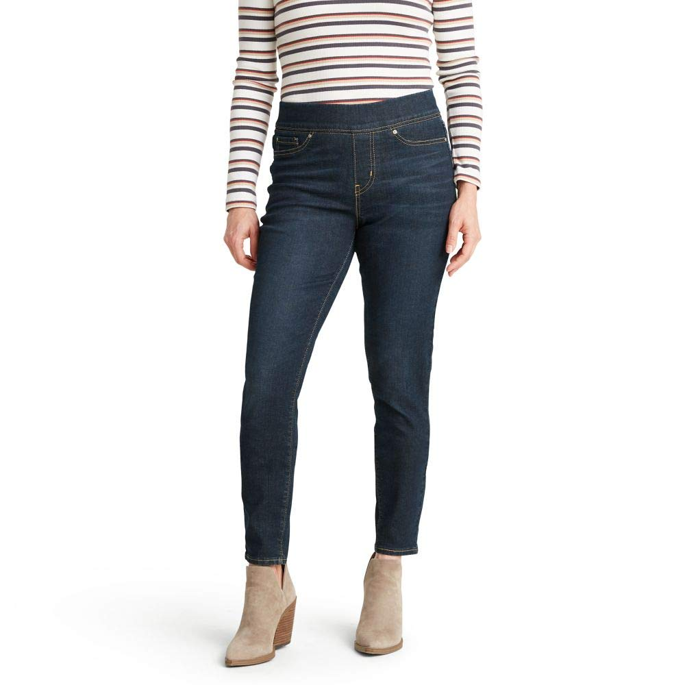 Signature by Levi Strauss & Co. Gold Label Womens Totally Shaping Pull-on Skinny Jeans