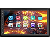 Hodozzy Double Din Android Car Stereo 7 Inch Touch Screen Bluetooth Car Radio 2 Din Head Unit Support WiFi GPS USB DVR Mirror Link FM Radio Receiver