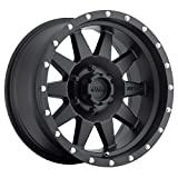 Method Race Wheels The Standard Matte Black Wheel with Stainless Steel Accent Bolts (15x7'/5x4.5') -6 mm offset